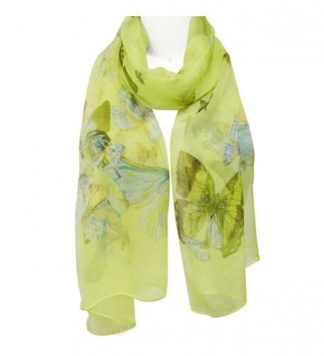 Wrapables Lightweight Butterfly Print Scarf in Fashion Scarves