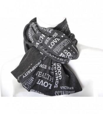 Prosperity wellness prosperity talisman charcoal in Fashion Scarves