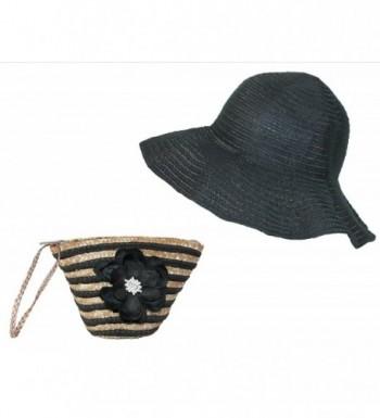 Stow Pink Weaved Sun Hat in Women's Sun Hats