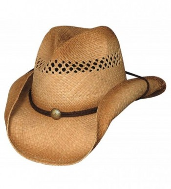Bullhide Blaze - Raffia Straw Cowboy Hat - CQ11FDGZ2K1