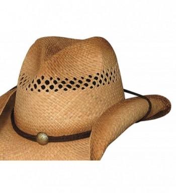 Bullhide Blaze Raffia Cowboy Medium