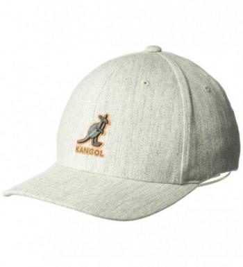 Kangol Men's 3D Wool Flexfit Baseball Cap - Flannel - CJ113GC9LZV