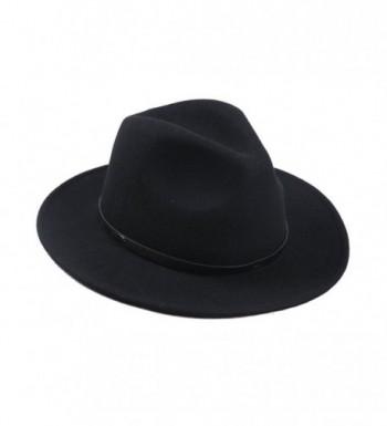 Sedancasesa Crushable Outback Fedora Black
