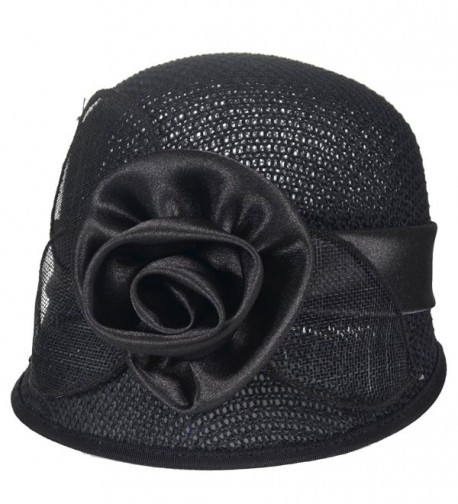 Womens Church Cloche British Sinamay