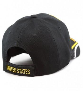 Official Licensed Military Baseball detail in Men's Baseball Caps