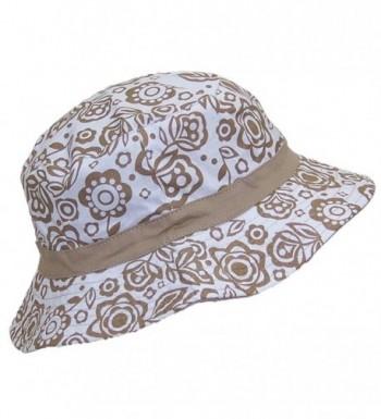 Solid Wing Reversible Hawaiian Designs in Women's Bucket Hats