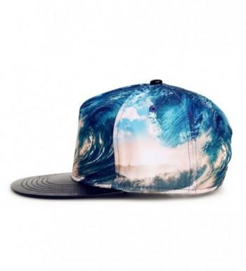 wxinmei Design Baseball Snapback Jellyfish