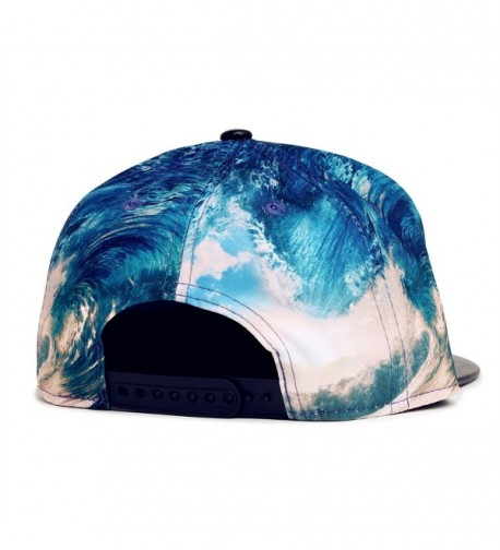 wxinmei Design Baseball Snapback Jellyfish in Women's Baseball Caps