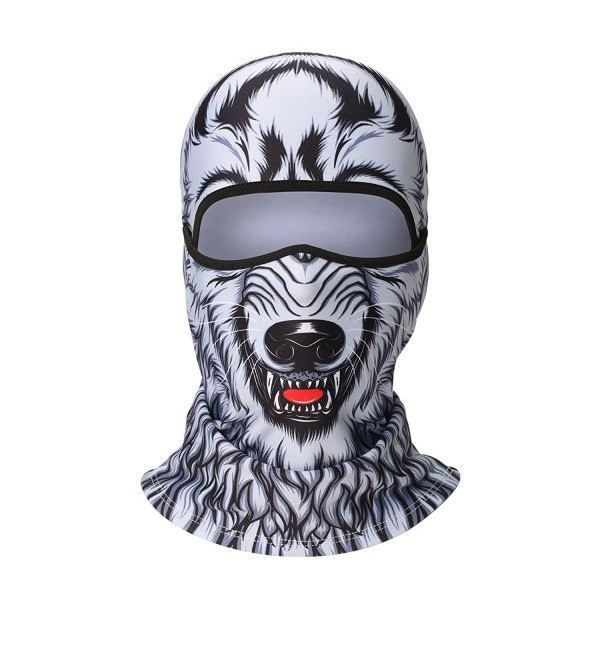 Balaclava Windproof Snowboarding Motorcycling Protection - Werewolf - CY187MZZ04Z