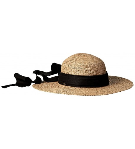 Scala Women's Big Brim Raffia Hat - Tea - C3110P49LIP