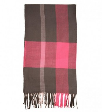 Love Lakeside Womens Cashmere Winter Plaid in Fashion Scarves