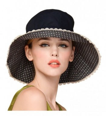 Erigaray UPF50+ Sun Shade Hats For Womens Summer Outdoor Wide Brim Beach Hat Foldable - Smoky Gray - C31802GKHEU