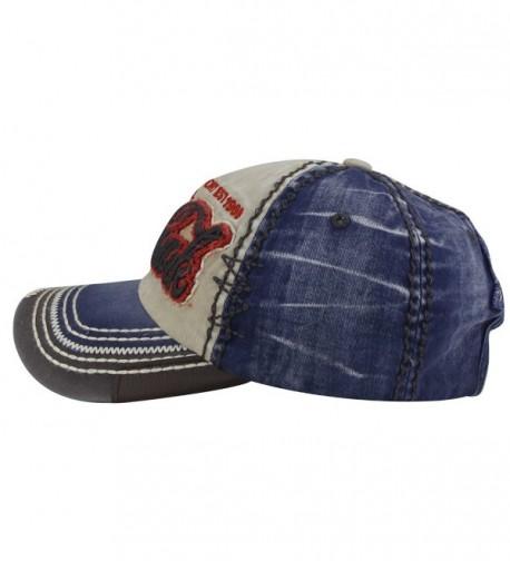 MINAKOLIFE Distressed embroidered Baseball Snapback in Women's Baseball Caps