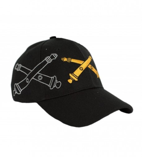 Artillery Weapons Cannons Shadow Licensed in Men's Baseball Caps