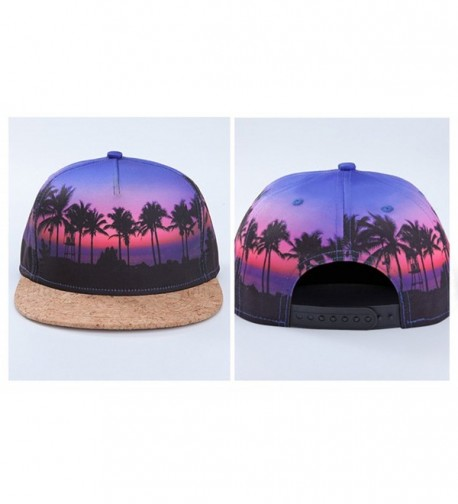 Soeach Coconut Flatbill Snapback Baseball