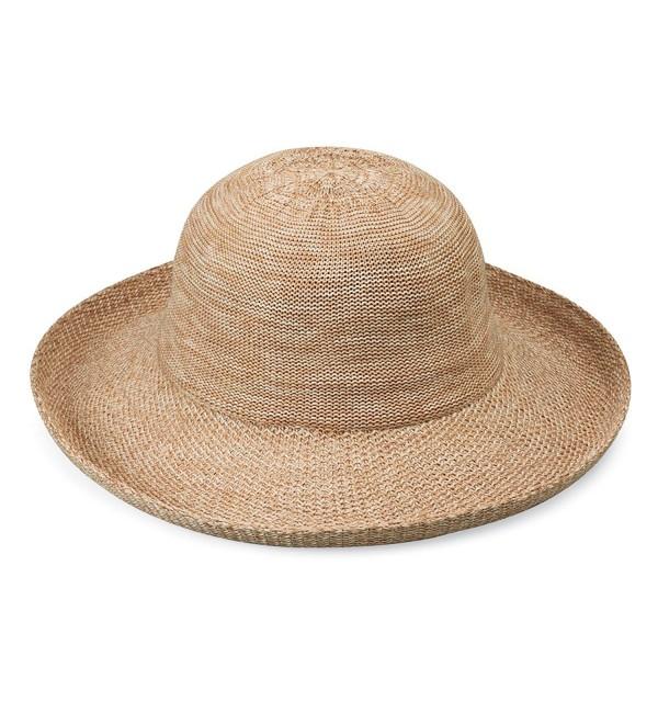 wallaroo Women's Petite Victoria Sun Hat - Perfect For Smaller Heads! - Mixed Camel - CR11YOA226X