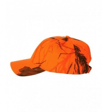 Joes USA TM Camouflage Caps Realtree Blaze Orange