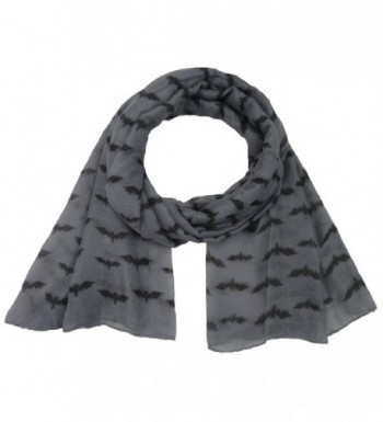 Women Scarf Winter Shawl Bat Print Fashion Scarf Soft Wrap Stole Pashmina Scarves - C - CB1885I8D69