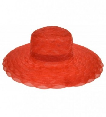 Great Deals! Red Hat Lady Society / Braided Poly Hat / Red - CS112U8L0A5