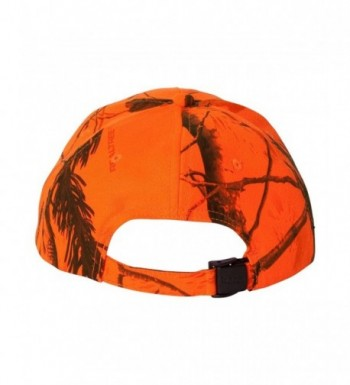 Joes USA TM Camouflage Caps Realtree Blaze Orange in Men's Baseball Caps
