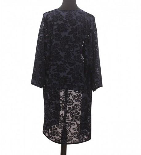 Velvet Kimono Sleeve Cardigan Shawls in Wraps & Pashminas