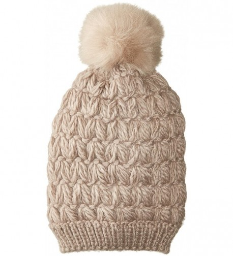 Collection XIIX Women's Solid Roadtrip Beanie - Wolf Taupe - CV1844L9KKE