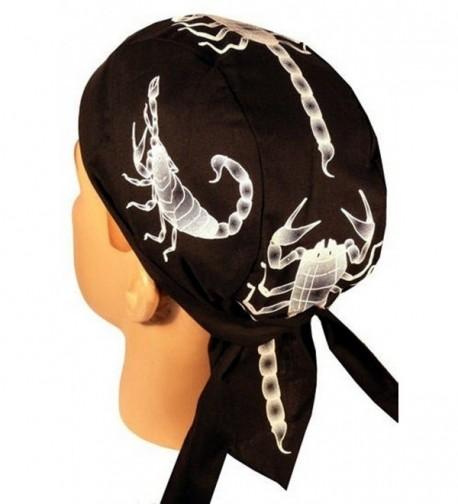 Skull Cap Biker Caps Headwraps Doo Rags - Scorpions - CM12ELHMIYP