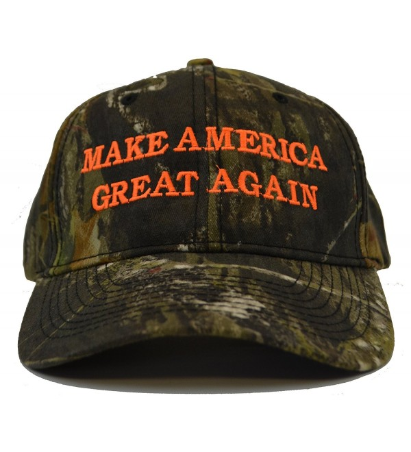Make America Great Again Donald Trump Hat - Mossy Oak Break Up Camo - C3125WGOIXX