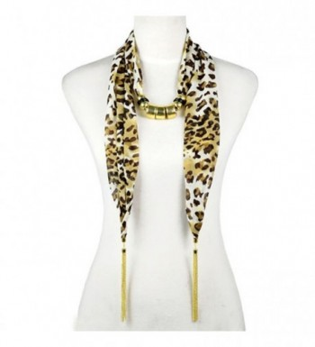 Tassel Leopard Jewelry Necklace Beaded