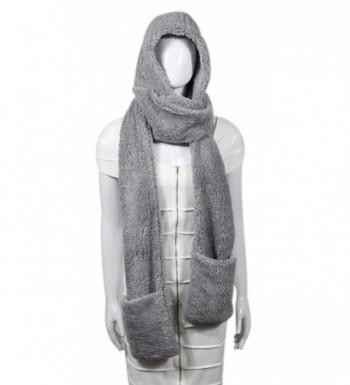 Fleece Womens Hooded Pockets Bioterti