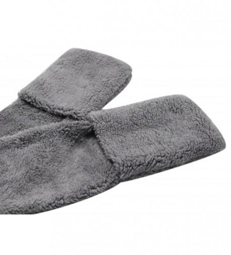 Fleece Womens Hooded Pockets Bioterti in Fashion Scarves