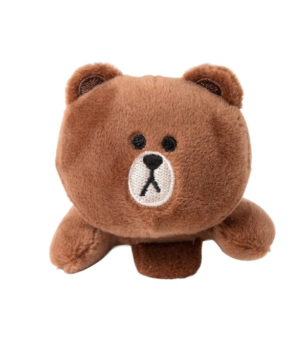 LINE FRIENDS Brown Lying Doll Hairpins Season 2 - Brown - C717YK32YLY