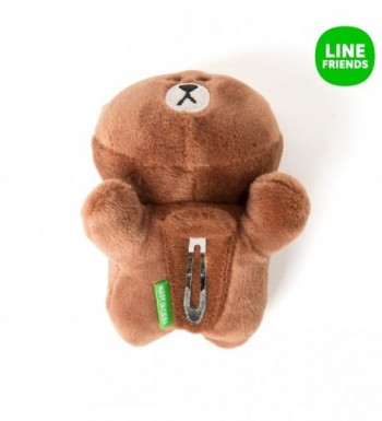 LINE FRIENDS Brown Hairpins Season