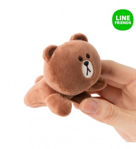 LINE FRIENDS Brown Hairpins Season in Women's Headbands in Women's Hats & Caps