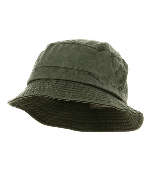 Washed Hats-Olive W12S41E - CL111C78HWF