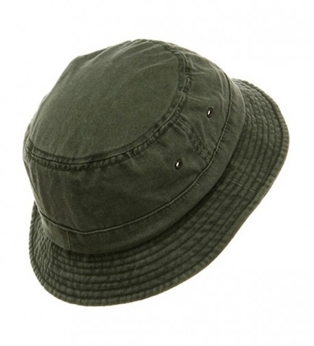 MG Washed Hats Olive in Men's Sun Hats