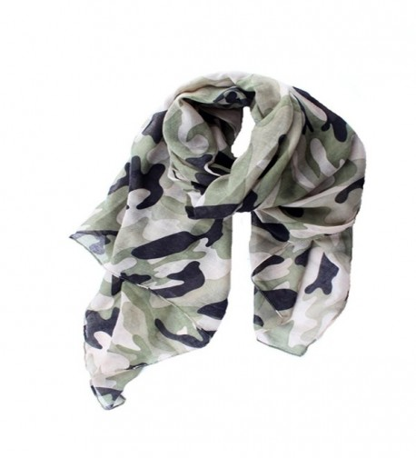 ctshow Camouflage Print Fashionable Scarves in Fashion Scarves