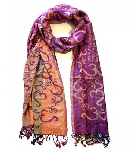 Prayer Meditation Sacred Gayatri Mantra - Purple - CJ120WKN0J7