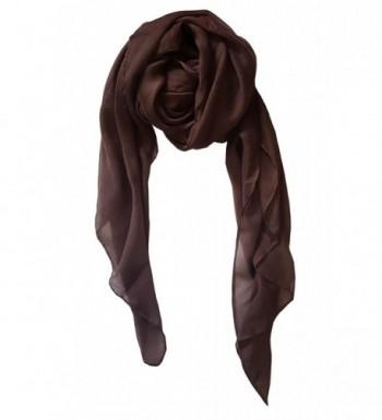 SoLine Scarves Blanket lightweight Deepbrwon