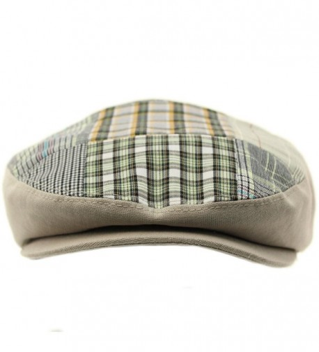 Cotton Patch Front Driver Hat in Men's Newsboy Caps