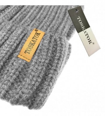 TOSKATOK%C2%AE TOSKATOKWomens Winter Knitted Detachable
