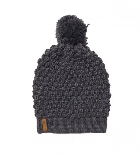 Krochet Kids Abby Beanie Fair Trade Hat - Heather Grey - CZ12899I7A9