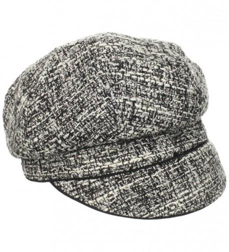 San Diego Hat Company Women's Wool Blend Cap - Black - CN116CWPE2B