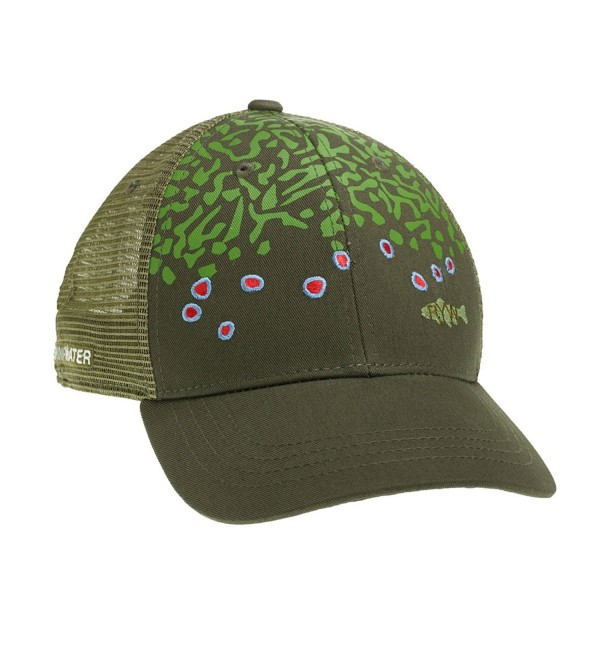 Rep Your Water Brook Trout Skin Hat - C311V58269L