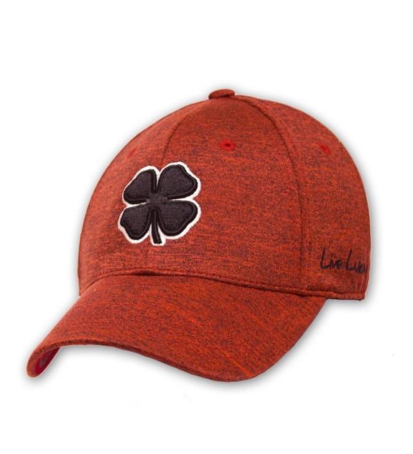 Black Clover Mens Rope Lucky Heather Red Luck Cap - Red - C612NBVIZ1I