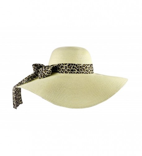 Beach Women Summer Floppy Ribbon
