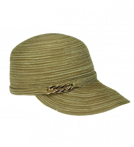 August Viscose Framer Hat - Natural - C912G4SERRP
