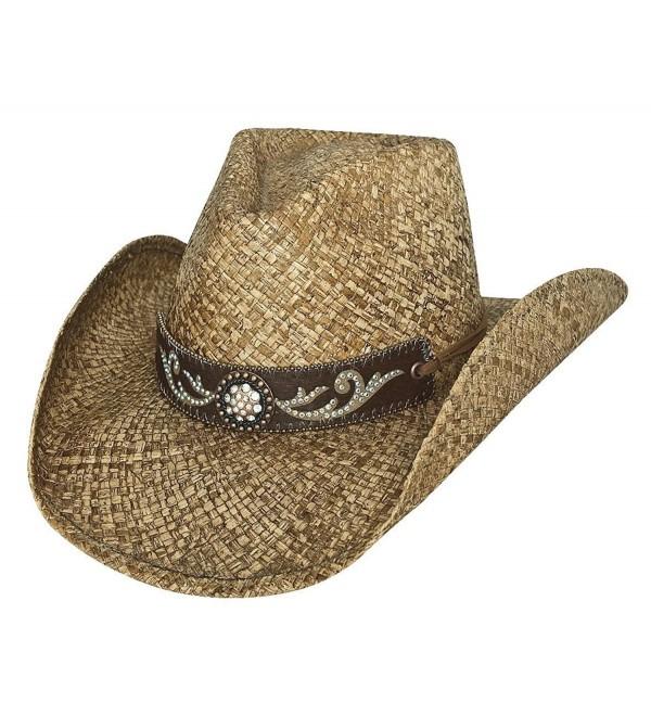 4aba0d2a6216e2 Bullhide Tennessee River Western Straw Hat 2794 - CE11KKZXQ0X