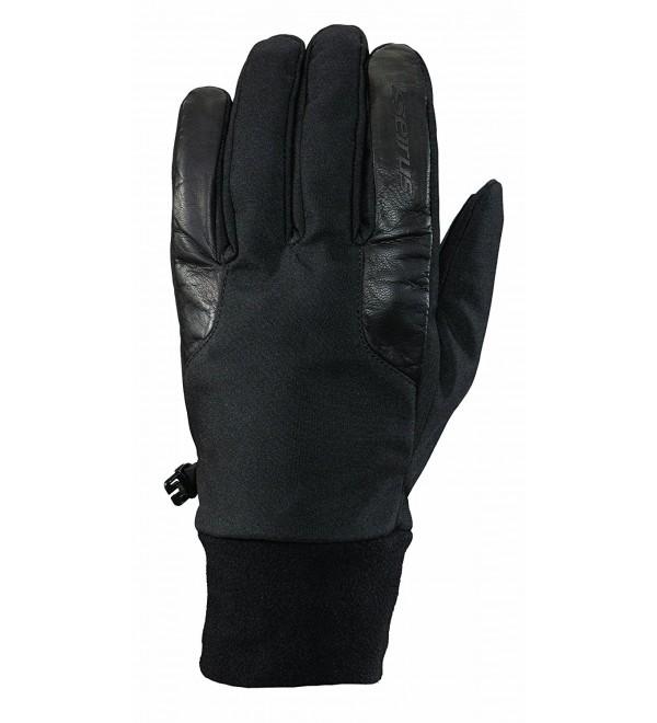 Seirus Innovation 1484 Womens Ladies Windstopper Blizzard Gore-Tex Gloves - Black - CX11ETRVNFN