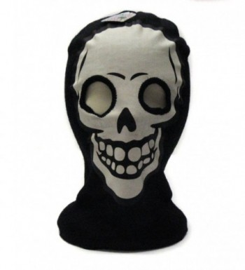White Skeleton Face Ski Mask Gothic Beanie Hat - CU117S1F2HR